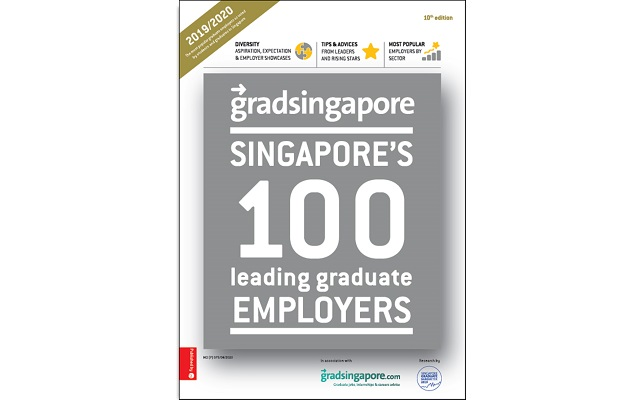 Singapore's 100 Leading Graduate Employers magazine
